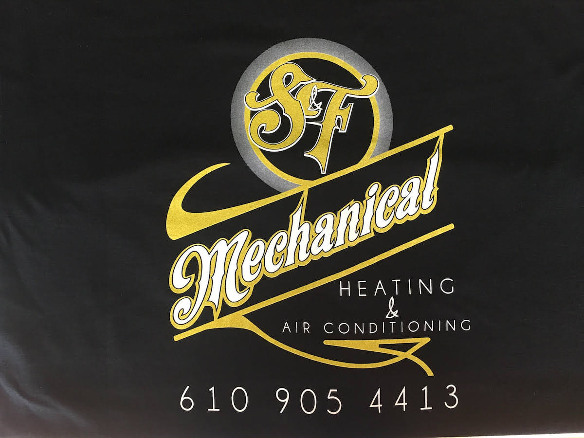 HVAC Business Cards And Shirts | Synergy Print Design