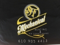 SF Mechanical Business Cards And Shirts Detail