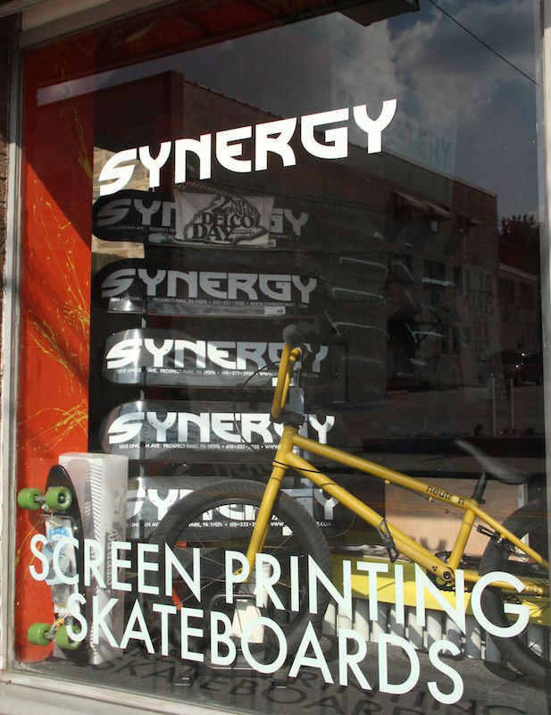 Skateboards for sale at Synergy