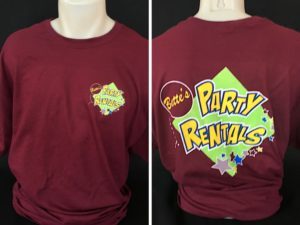 Bette's Party Rental T-Shirts
