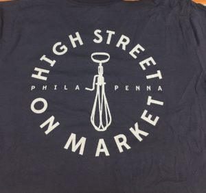 High Street Custom Restaurant T-Shirts