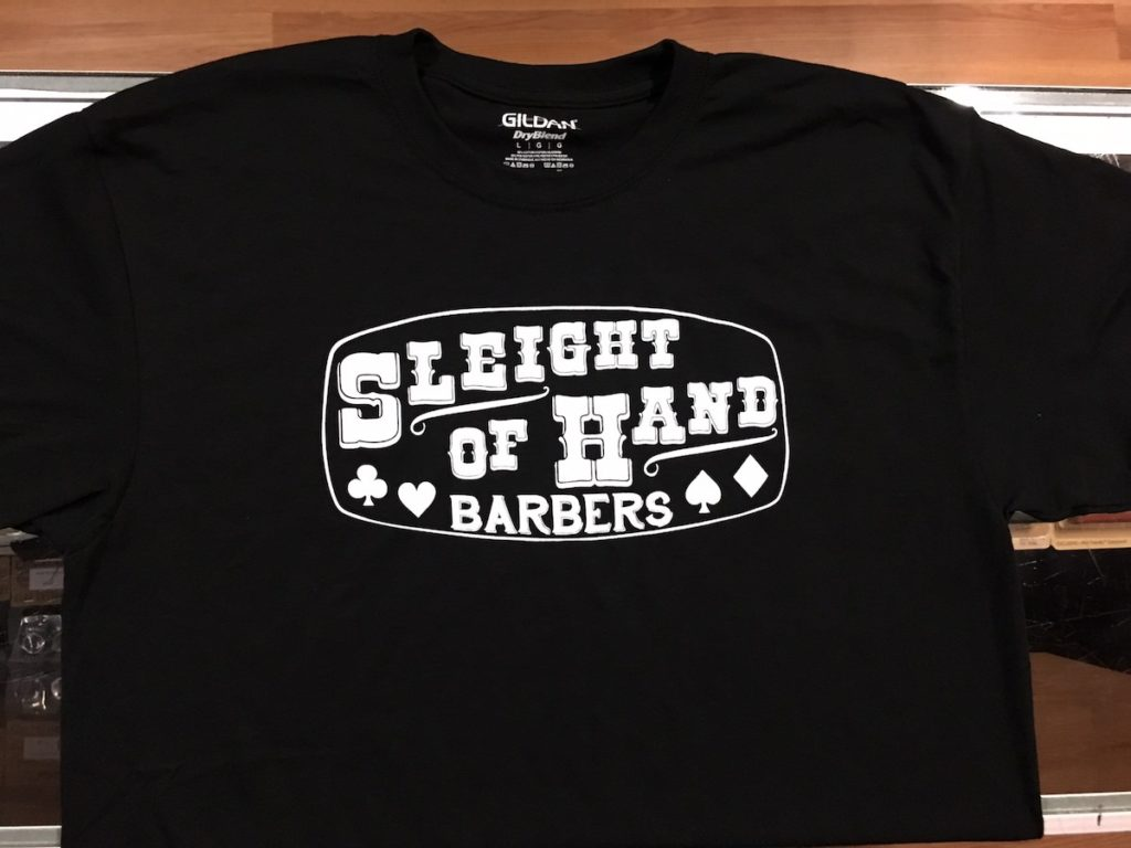 Custom Barber Shirts